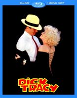 Dick Tracy Blu Ray Dvd Cover by iwonderbc