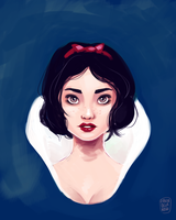 Serious Snow White by NoA85