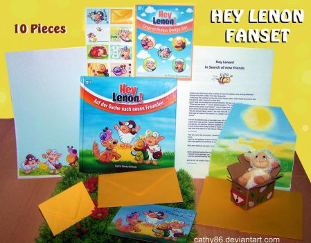 Lenon FANSET German + English by Cathy86