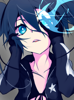 Black Rock Shooter by PiroHiponotic