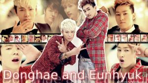 Donghae and Eunhyuk I wanna dance Wallpaper by ForeverK-PoPFan
