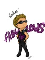 Hawkeye's Feelin Fab by TheMelodyOfTheSoul