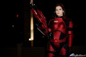 Mass Effect 3: Female Shepard Cosplay by VariaK