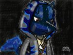 Xeta Shidel The Lucario (My OC) (Updated again) by XetaJTS