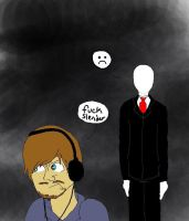 Watching for Slender by VodkaWarrior