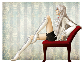 Pinup: Prussia by VictoriaWings