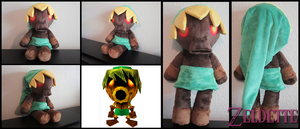 Deku Link Plush - Majora's Mask by Miss-Zeldette