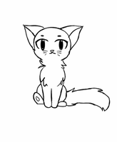 Cute cat base by me :) by Animation2Cute
