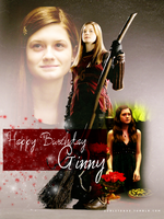 Happy Birthday Ginny by vacant-xpressi0ns