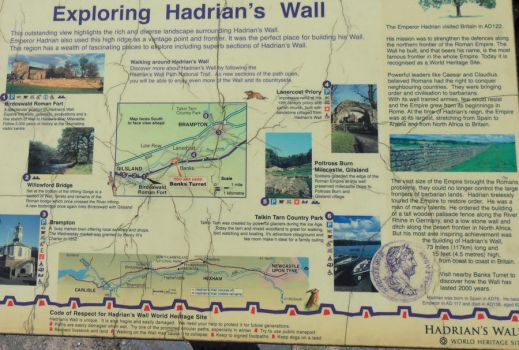 Hadrians Wall - You Are Here by PhotoMisfit