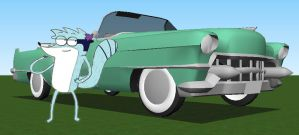 *gift* Madeline and her 1953 Cadillac by 1970superbird