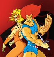 thundercats by Hutlore