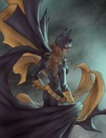 Here comes the batgirl... by abc142