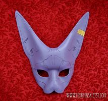 Purple Sphinx Cat Mask by merimask