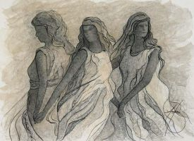 Three Sisters by JournalMTW