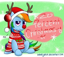 Christmas Hype by bravelyart