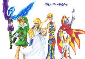 TLoZ Skyward Sword tribute by Libra-the-Hedghog
