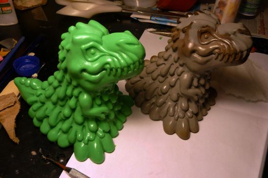 Lareg Ecto-Rex in the works! by Meadowknight