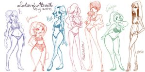 Ladies of Alisseth by neecobalt