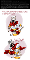 Undertale ask blog: so, about human anatomy... by bPAVLICA
