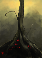 The Old Undead Tree by DamienWorm