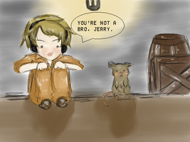 You're Not A Bro, Jerry. by PrussiaOtaku
