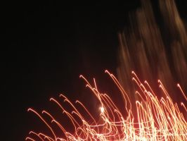 abstract firework2 by Postreman