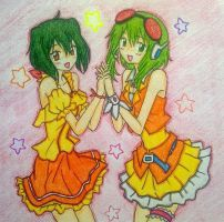 Ranka x Gumi by Rokiah15