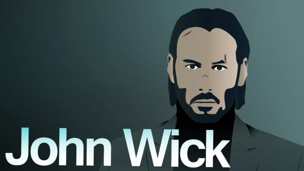 John Wick Vector by 111Keiser