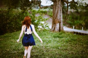 Natalie and Nature III by juliadavis