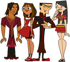 The original Cast - meet the firebenders by pippastrelle13