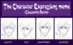 MH: Expressions meme: Rache by MikiTakamoto