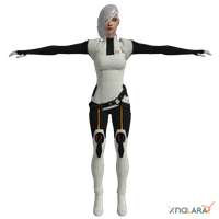 Human GLaDOS Custom Model by toughraid3r37890