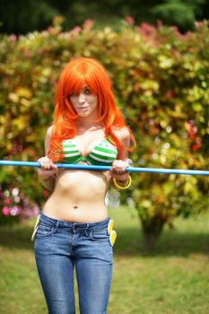 Nami 2YL Cosplay by GaiaGiselle
