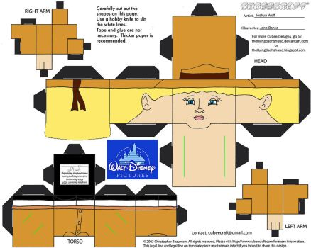 Dis52: Jane Banks by TheFlyingDachshund