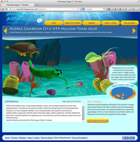 My Cambrian Aquarium Interactive Timeline by MwellretMiko