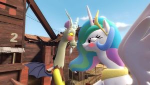 What Are You Doing Celestia by Golden-Freddy-1337