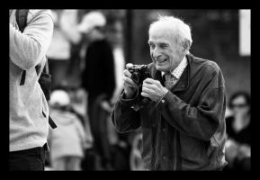 Old Man and Minolta 1 by M-M-X