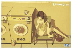 Laundry Room by noMirar