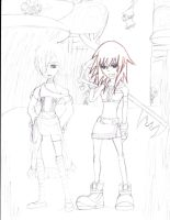 KH Hunting Mission Uncolored by lovediesnow