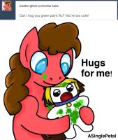 .: Ask Vic Puppy :. by ASinglePetal