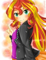 *Sunset Shimmer* by FlyingCatsandGlitter