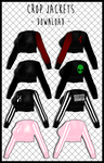 Crop Jackets [ DOWNLOAD ] by Aia-Aria