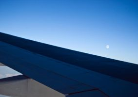 Wing and Moon by MartinIsaac