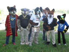 Northwest Ohio furries by Rennon-the-Shaved