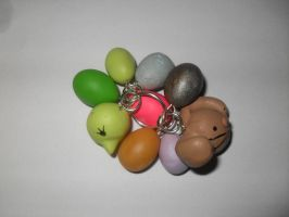 easter charms  Made with Sculpey by Chenae00