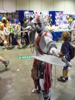 Kratos by AngelicDemonSlayer