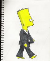 Bart Simpson by Rachelmetal
