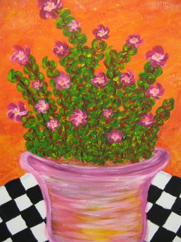 the pink pot by rachelsmind
