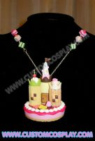 Cookie castle necklace by The-Cute-Storm